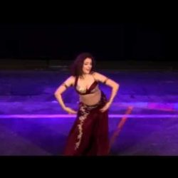 Ishtar performing at the Fantasia Festival, London