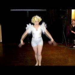 Ishtar's Bugsy Malone show girl performance