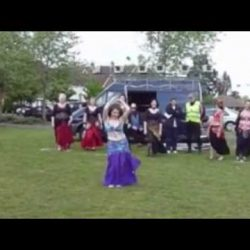 Windy Veil Bellydance Performance